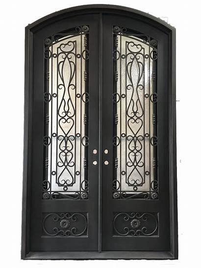 Door Iron Double Wrought Unique Doors Custom