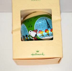 hallmark ornaments 1980 1980 hallmark peanuts satin ornament in original box ebay