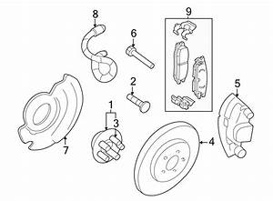 Pontiac Grand Am Brake Dust Shield  Front  Components