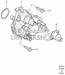 Fuel Injection Pump - 2 4 Tdci