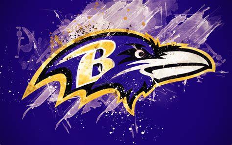 Download wallpapers Baltimore Ravens, 4k, logo, grunge art ...