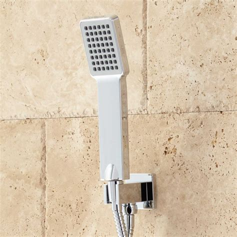 calhoun shower system  rainfall shower head hand