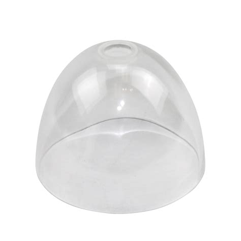 juno alfa g35 cl clear handblown glass cone shade