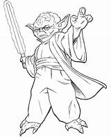 Wars Star Coloring Yoda Colouring Books Topcoloringpages sketch template