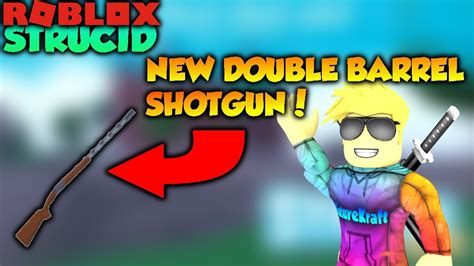 roblox strucid  double barrel shotgun  update