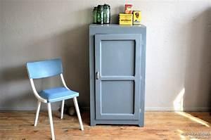 Armoire Parisienne Vintage : petite armoire parisienne edith l 39 atelier belle lurette ~ Teatrodelosmanantiales.com Idées de Décoration
