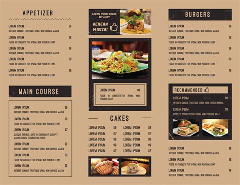 id馥s cuisines menu templates canva 21 food menu images 100 great restaurant food menu print templates 2016 frip in rutgers zone food menu rutgers