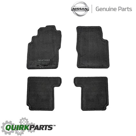 2004 Nissan Xterra Floor Mats by 2001 2004 Nissan Pathfinder Floor Mats Carpeted Charcoal