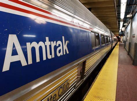 amtrak train  stuck   york tunnel