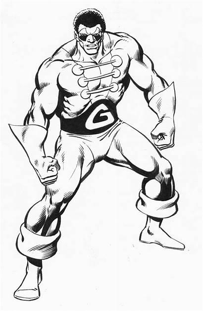 Ron Wilson Giant Marvel Tri 1984 Hdbk