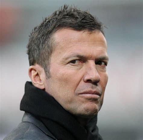 """Lothar matthaus was a fantastic footballer, a real complete footballer. Die ARD zeigt """"Die Dasslers"""", wir trafen Lothar Matthäus - WELT"""
