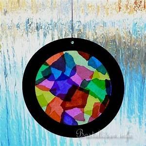 Sommer Basteln Kinder : basteln mit kindern sommer basteleien kaleidoscope fensterbild ~ Orissabook.com Haus und Dekorationen