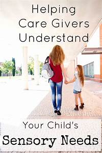 Helping Care Givers Understand Sensory Processing Disorder