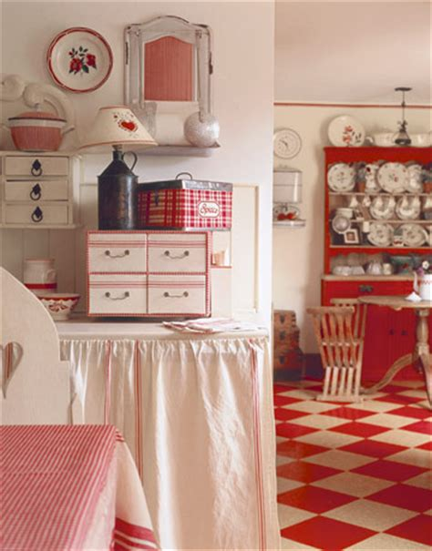 country retro kitchen c dianne zweig kitsch n stuff stylish and white 2954