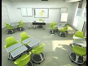 Node classroom animation from Steelcase!! - YouTube