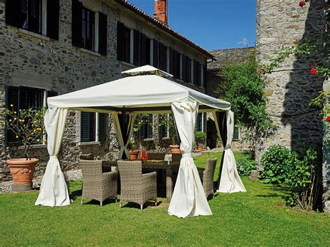 Gazebo 3x3 Quadro Poliestere Antracite Oohome Selection