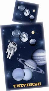 Bettwäsche Unser Sonnensystem : weltall bettw sche universe 135x200 cm ~ Michelbontemps.com Haus und Dekorationen