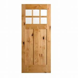 Krosswood Doors 36 in. x 80 in. Krosswood Craftsman ...