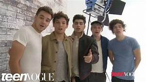 One Direction's Teen Vogue Photoshoot | Teen Vogue - YouTube