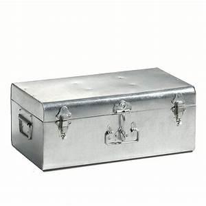 Malle Cantine Metal : malle metallique ~ Teatrodelosmanantiales.com Idées de Décoration
