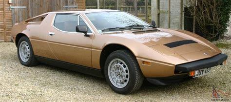 Maserati Merak Ss For Sale by Maserati Merak Ss Lhd For Sale 1980