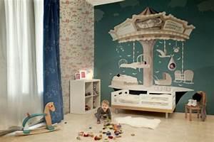 Tapeten Für Babyzimmer : kunstvolle tapeten im kinderzimmer ~ Sanjose-hotels-ca.com Haus und Dekorationen