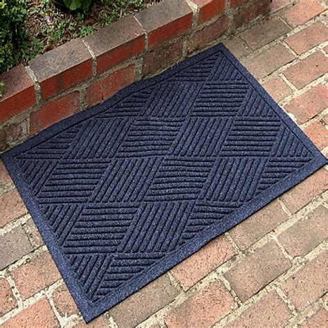 weather guard mats buy weather guard diamonds 23 inch x 35 inch door mat in