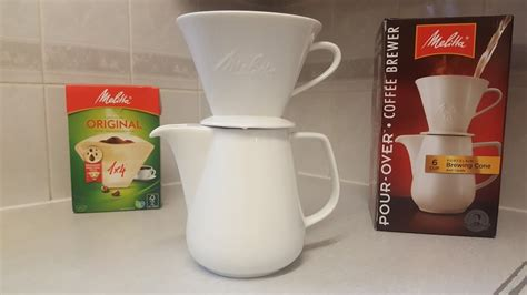 Get yours today as you read the description. Melitta Pour Over Coffee Brewer - YouTube