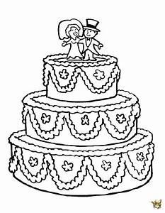 Dessin Gateau D Anniversaire : gateau a colorier colorier gateau anniversaire ~ Louise-bijoux.com Idées de Décoration