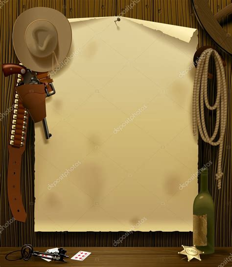 Wild West Relay Poster — Stock Vector © maystra #15649083