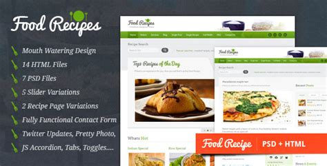cuisine site 20 free and premium ecommerce shop html website templates