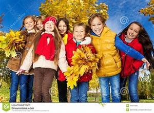 Friends In Maple Trees Park Royalty Free Stock Images ...