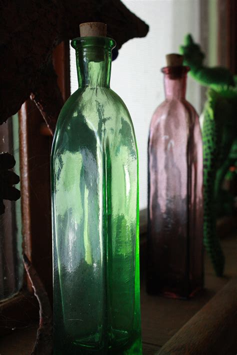 Glass Bottle in Window Sill Picture | Free Photograph ...