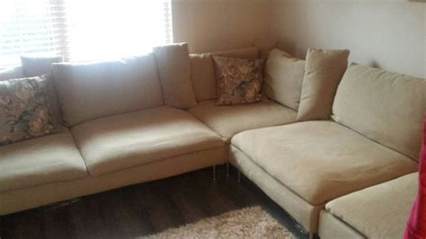 soderhamn sofa for sale extra large soderhamn corner l couch immaculate for sale