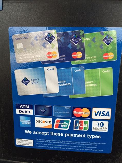 The sam's club mastercard is a great choice of card for sam's club members who particular spend a lot on gas. Use your Sam's club card then if you wish, use other credit card to pay your gas! - Yelp