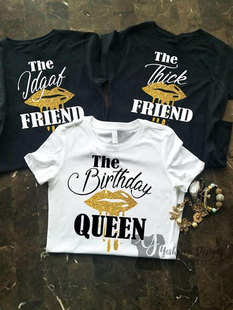 birthday group shirts birthday party shirts  friend