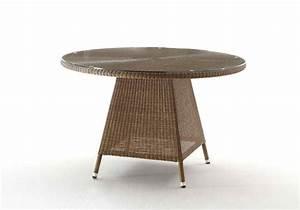 Tisch Rund 120 Cm : destiny tisch sevilla ii gartentisch 120 cm rund polyrattan loom ~ Indierocktalk.com Haus und Dekorationen