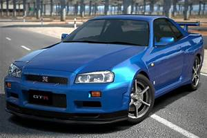 Nissan SKYLINE GT-R V • spec (R34) '99   Gran Turismo Wiki ...