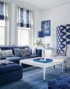25, Gorgeous, White, And, Blue, Living, Room, Ideas, For, Modern, Home