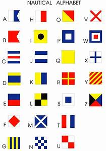 pinterest o the worlds catalog of ideas With nautical flag letters