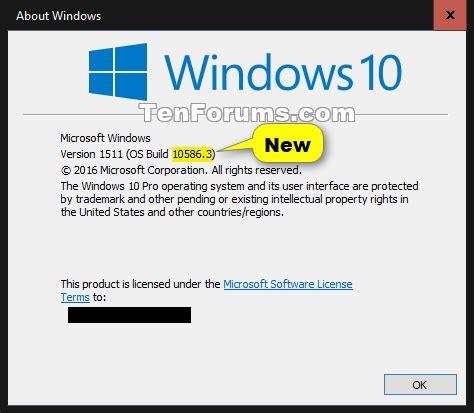 windows 10 cumulative update kb3105213 november 10th windows 10 forums