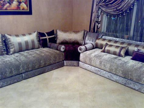 salon marocain canapé canapés de salon marocain moderne