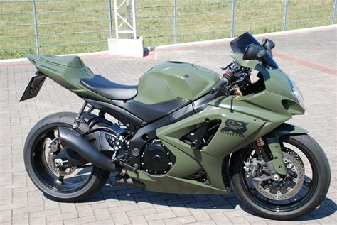 2006 Suzuki Gsxr 1000 by 2005 2006 Suzuki Gsxr1000 Army Green Fairing