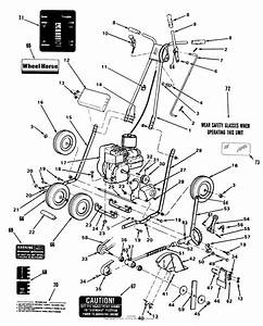Toro 34 Trimmer  1987 Parts Diagram For Lawn