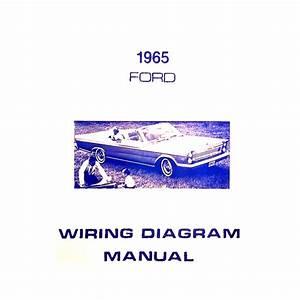 Book - Wiring Diagram Manual - Galaxie