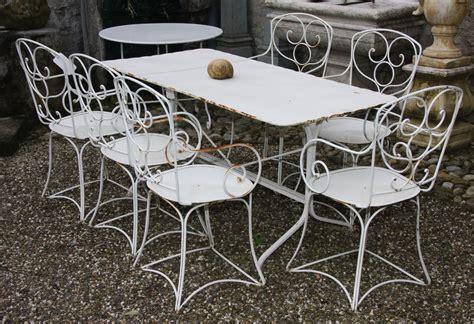 salon de jardin fer forge blanc table ronde fer forg 233 blanc table de lit
