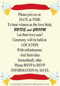 informal wedding invitation wording examples With wedding invitation language casual