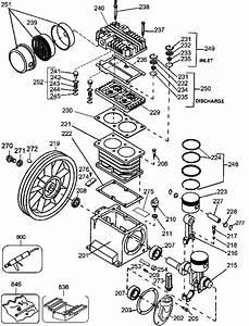 Dewalt D55270 5 5 Hp Gas 8 Gal Wheeled Compressor  Type 3