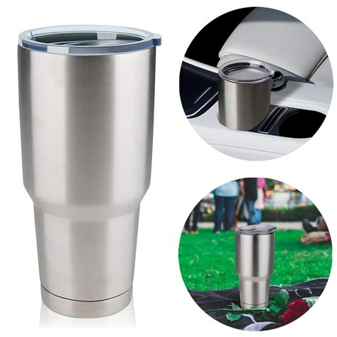 Minimise coffees going cold increasing repeat sales. Tumbler Stainless Steel Coffee Tumbler Double Wall Vacuum Insulated Travel Mug with Lid and ...