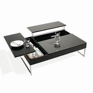 Table Bar Avec Rangement : table basse rangement marie claire maison ~ Teatrodelosmanantiales.com Idées de Décoration